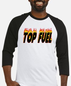 Top Fuel Flame Baseball Jersey