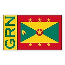 Grenadan Decals Rectangle Decal