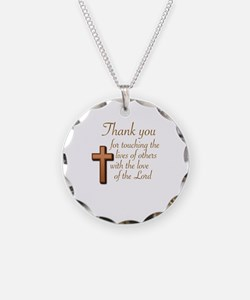 BIBLE TEACHERS/PREACHERS - T Necklace