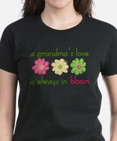 Unique Grandmothers flower garden Tee