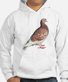 Red Pigeon (Isolated) Hoodie