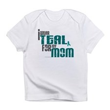 Cute Ovarian cancer ribbon Infant T-Shirt