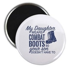 Cute Navy parents Magnet