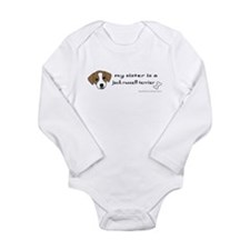 Unique Funny sister Long Sleeve Infant Bodysuit