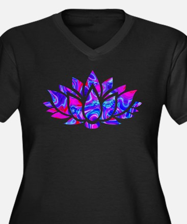 Lotus flower Plus Size T-Shirt