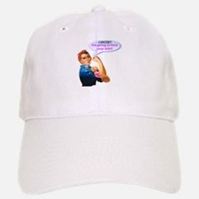 Rosie Fighting Cancer Design Baseball Hat