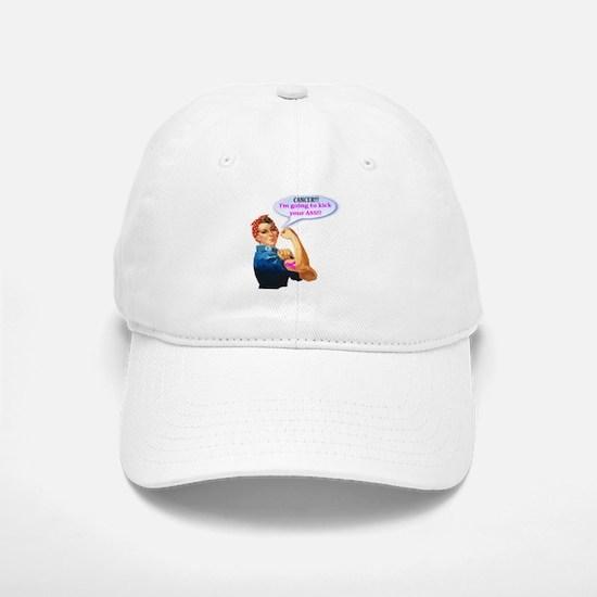 Rosie Fighting Cancer Design Baseball Hat