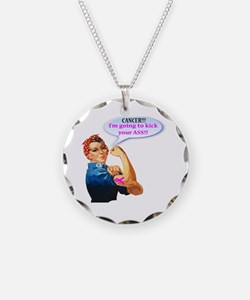 Rosie Fighting Cancer Design Necklace
