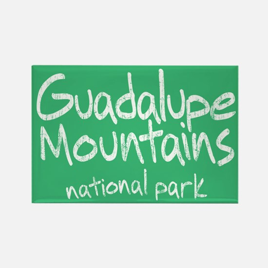 Guadalupe Mnts. NP Rectangle Magnet (100 pack)