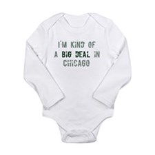Cute Kind big deal Long Sleeve Infant Bodysuit