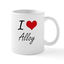 I Love Alloy Artistic Design Mugs