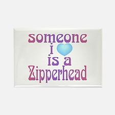 Zipperheads Rectangle Magnet