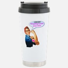 Rosie Fighting Cancer Travel Mug