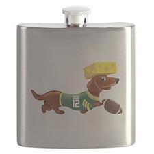 Cute Dachshund Flask