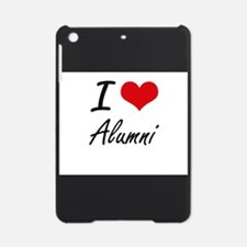 I Love Alumni Artistic Design iPad Mini Case