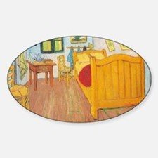 Hampton art Sticker (Oval)