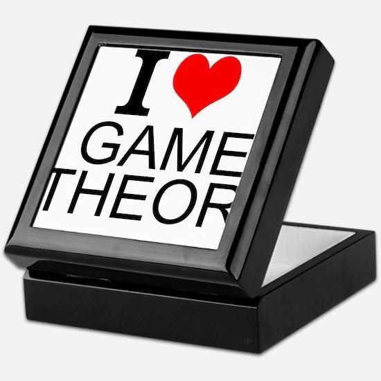 I Love Game Theory Keepsake Box