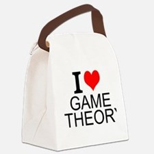 I Love Game Theory Canvas Lunch Bag