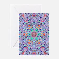 Digital Mandala Greeting Cards