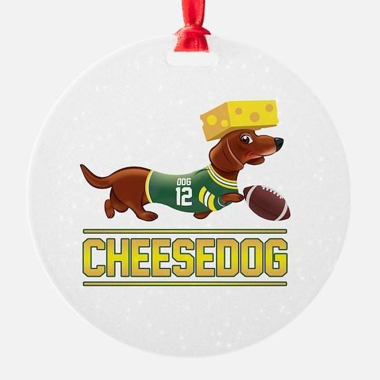 Cheesedog 2 (Dachshund) Ornament