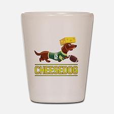 Cheesedog 2 (Dachshund) Shot Glass