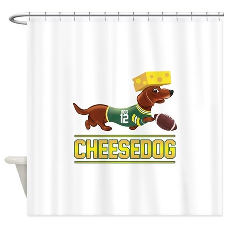 Awesome Cheesedog 2 (Dachshund) Shower Curtain