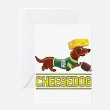 Cheesedog 2 (Dachshund) Greeting Cards