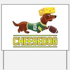 Cheesedog 2 (Dachshund) Yard Sign