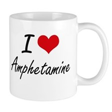 I Love Amphetamine Artistic Design Mugs