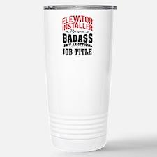 Badass Elevator Install Travel Mug