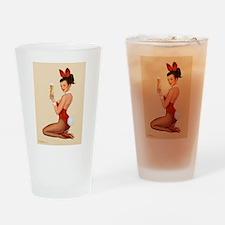 Cute Sensual Drinking Glass