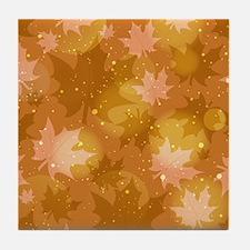 Soft Autumn Colors Tile Coaster