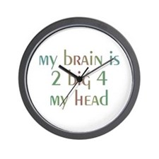 Cute Brain surgery awareness Wall Clock