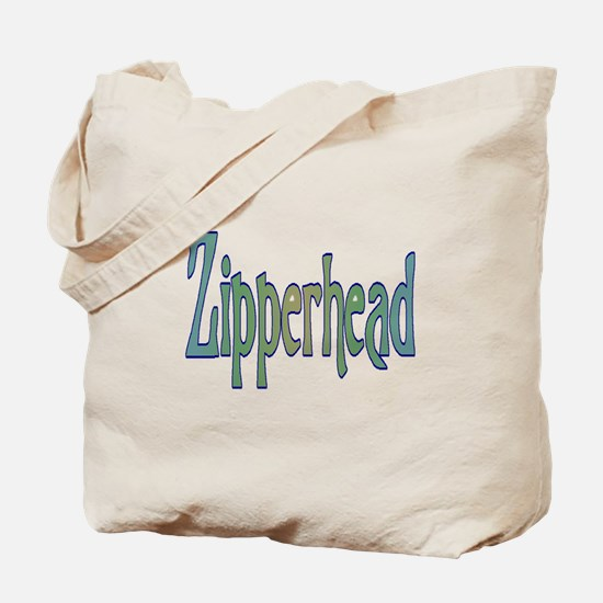 Cute Zipperhead Tote Bag