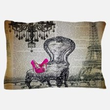 french rococo vintage paris Pillow Case