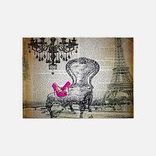 french rococo vintage paris 5'x7'Area Rug