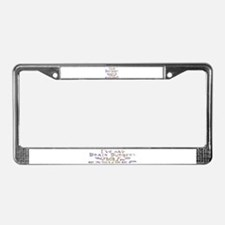 Cute Disability License Plate Frame