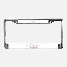 Unique Medical License Plate Frame