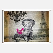 french rococo vintage paris Banner