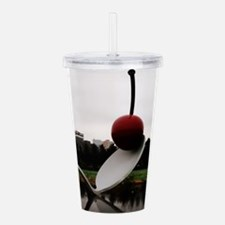 Cherry and Spoon Minne Acrylic Double-wall Tumbler