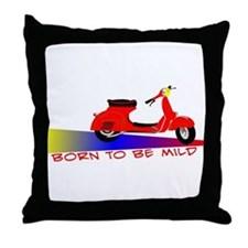 Born To Be Mild Throw Pillow