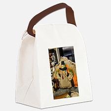 Cute Turkey bird Canvas Lunch Bag