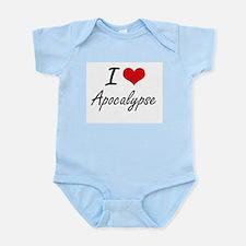 I Love Apocalypse Artistic Design Body Suit