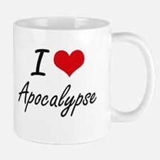 I Love Apocalypse Artistic Design Mugs
