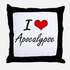 I Love Apocalypse Artistic Design Throw Pillow