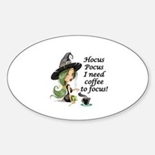 HALLOWEEN WITCH - HOCUS POCUS I NEE Decal