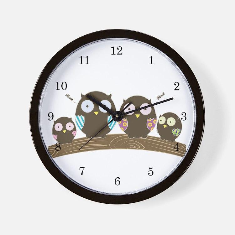 Hoot Wall Clock
