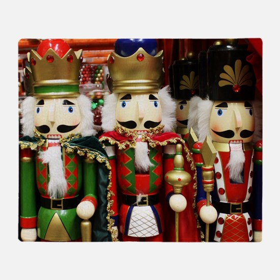 Nutcracker Soldiers Throw Blanket