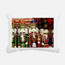 Nutcracker Soldiers Rectangular Canvas Pillow