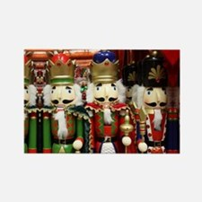 Nutcracker Soldiers Rectangle Magnet